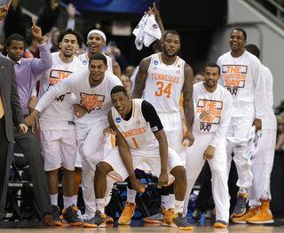 APTOPIX NCAA Mercer Tennessee Basketball