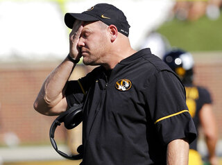 Missouri SEC Woes Football