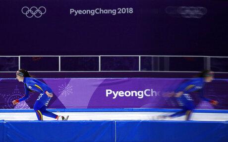 APTOPIX Pyeongchang Olympics Speed Skating