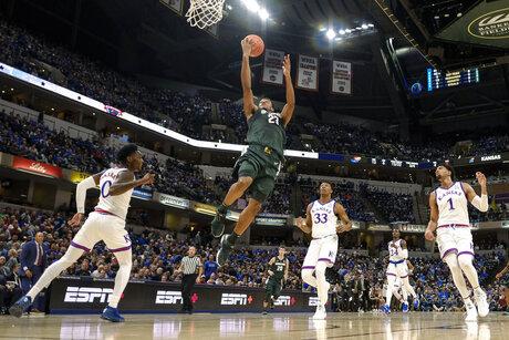 Michigan St Kansas Basketball