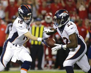 C.J. Anderson, Peyton Manning