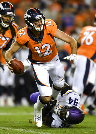 Vikings Broncos Football