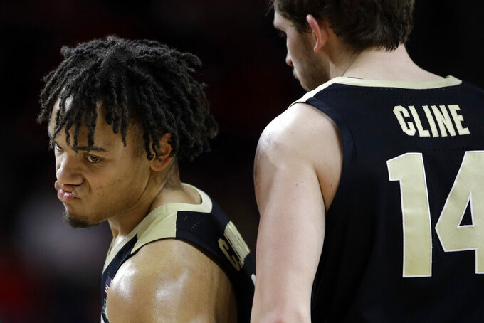 Smith scores 16 as No. 24 Maryland beats No. 12 Purdue 70-56