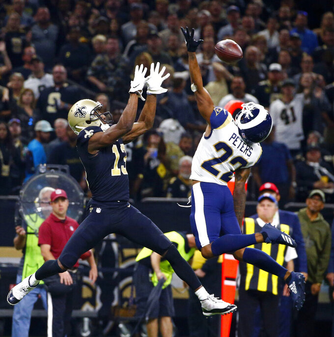 Los Angeles Rams at New Orleans Saints 11/4/2018