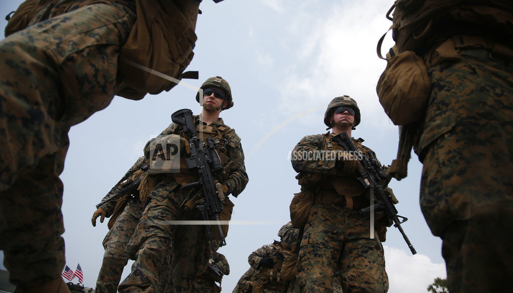 Thailand US Military Exercise