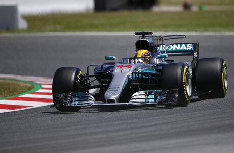 Spain F1 GP Auto Racing