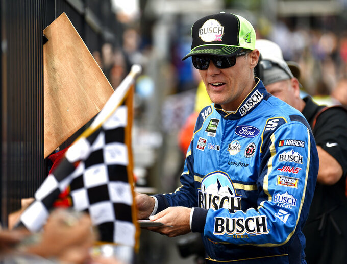 Harvick follows win with pole at Pocono Raceway