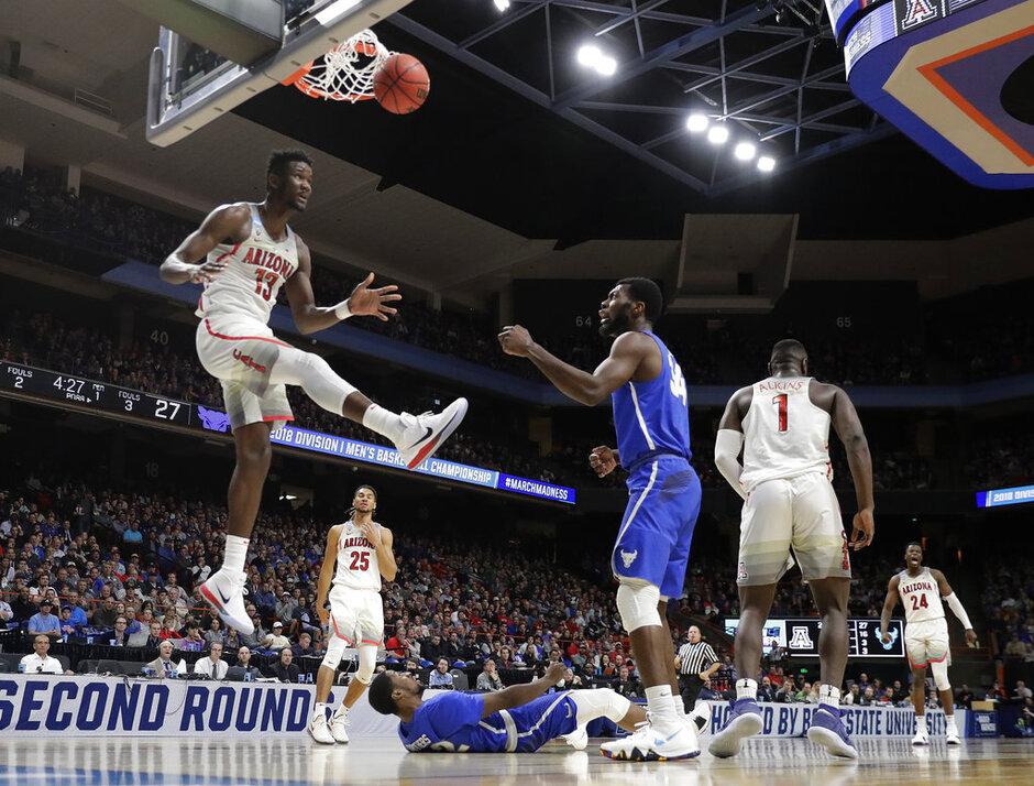 NCAA Buffalo Arizona Basketball