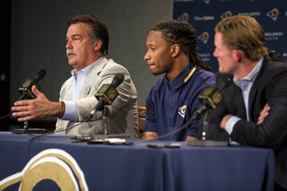 Todd Gurley, Jeff Fisher, Les Snead