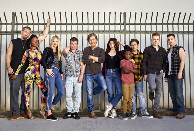 This image released by Showtime shows cast members from the original series