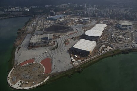APTOPIX Brazil Oly Rio 1 Year Away