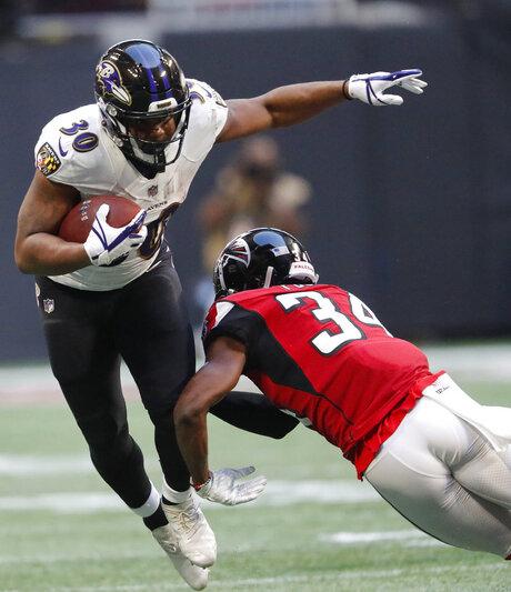 Ravens Falcons Football