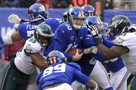 Eagles Giants Football