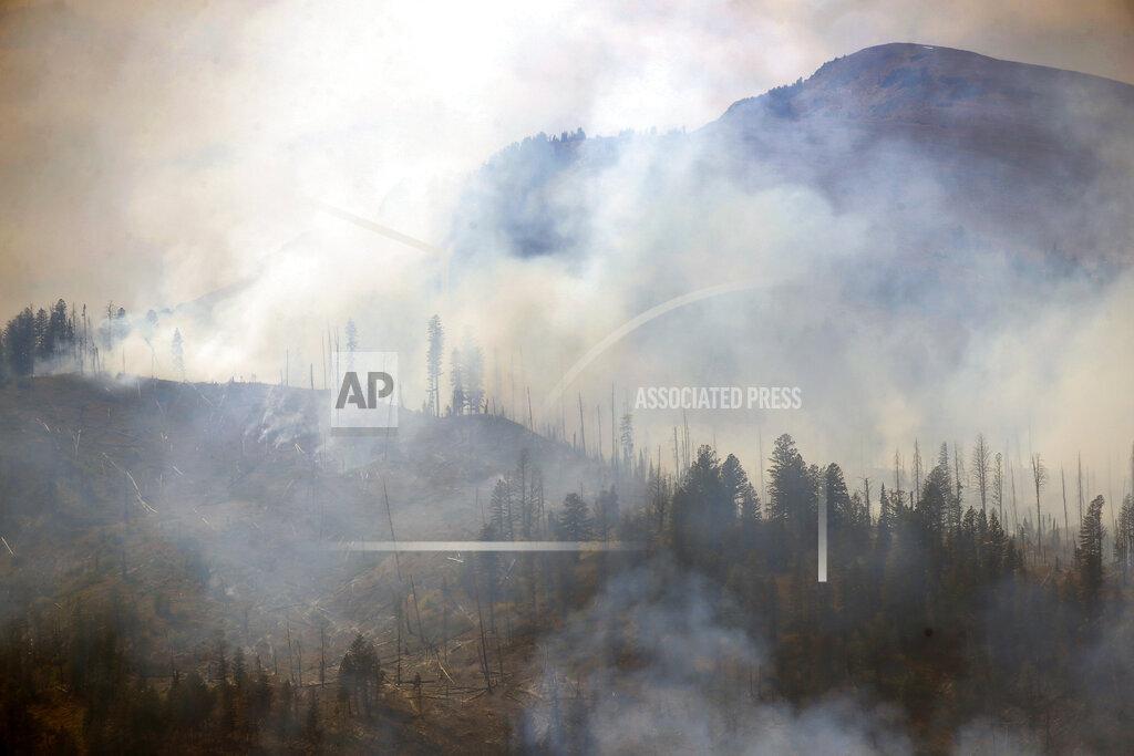 Yellowstone Wildfires