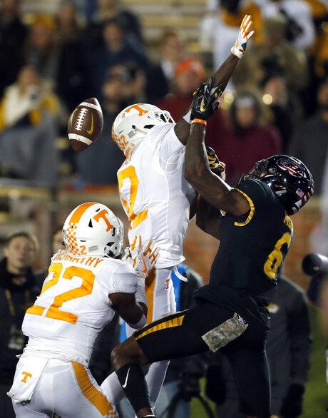 Tennessee Missouri Football