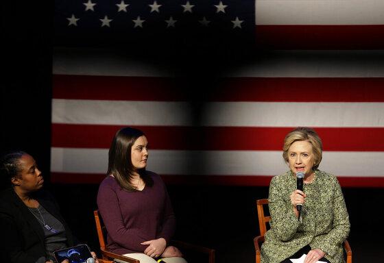 HIllary Clinton, Erica Lafferty Smegielski, Marie Delu