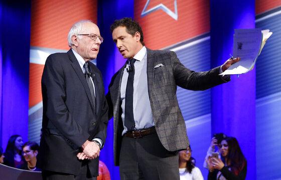 Bernie Sanders, Chris Cuomo