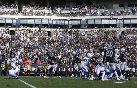 APTOPIX Colts Raiders Football
