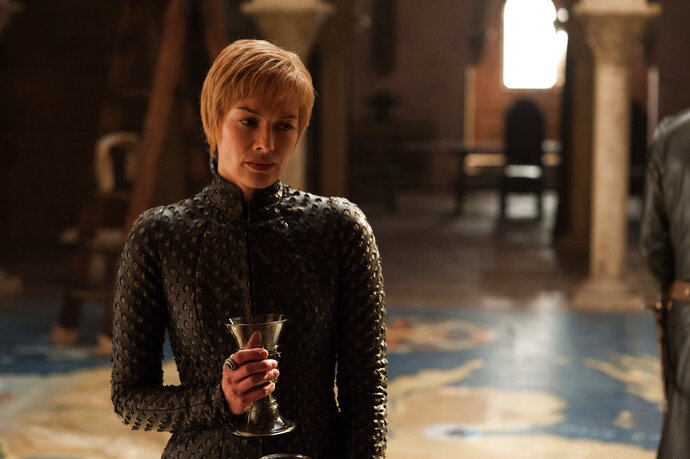 This image released by HBO shows Lena Headey in a scene from