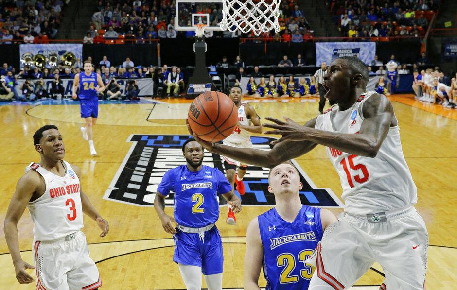 NCAA South Dakota St Ohio St Basketball