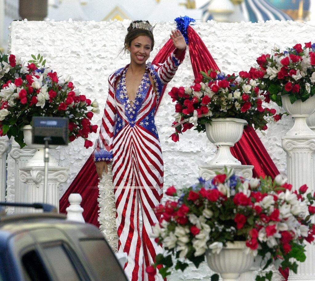 Associated Press Domestic News New Jersey United States MISS AMERICA 2003 ERIKA HAROLD