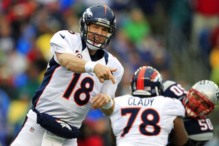 Peyton Manning, Ryan Clady, Rob Ninkovich