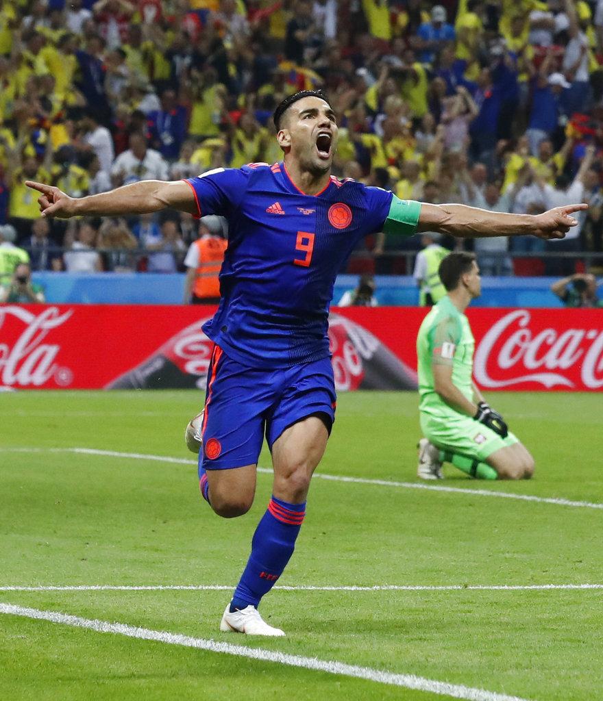 APTOPIX Russia Soccer WCup Poland Colombia