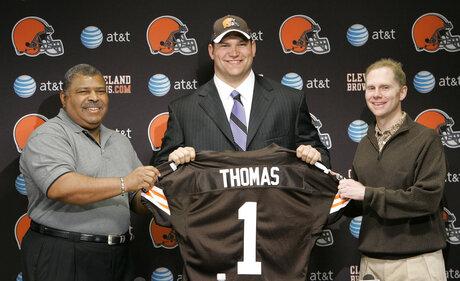 Browns Thomas Football