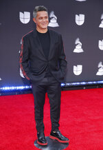 Alejandro Sanz arrives at the 20th Latin Grammy Awards on Thursday, Nov. 14, 2019, at the MGM Grand Garden Arena in Las Vegas. (Photo by Eric Jamison/Invision/AP)