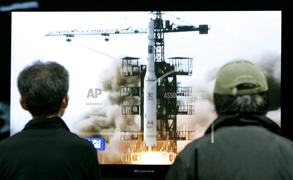 APTOPIX South Korea North Korea Missile