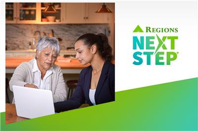 On National Savings Day – and every day – Regions Next Step helps people plan and save for retirement. (Photo: Business Wire)