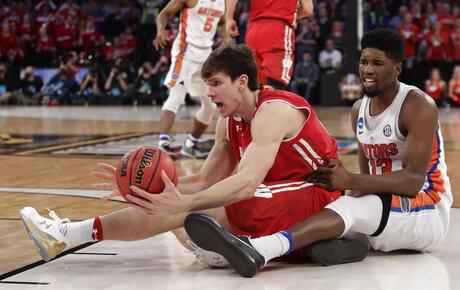 NCAA Wisconsin Florida Basketball