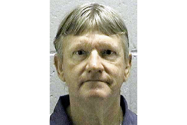 In this undated photo released by the Georgia Department of Corrections, shows death row inmate Donnie Clevelan Lance, who was convicted of killing his ex-wife and her boyfriend more than 20 years ago. State Attorney General Chris Carr announced Friday, Jan. 17, 2020 that Lance, 66, is scheduled to die on Jan. 29, 2020, at the state prison in Jackson, Ga. (AP Photo/Georgia Department of Corrections)